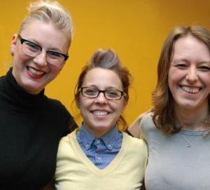 Karen McLeod, Erin McKeown and Rosie Wilby