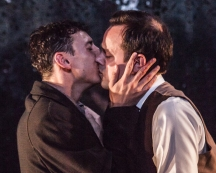 Al Weaver and Harry Hadden-Paton in Alexi Kaye's play The Pride, photo by Marc Brenner