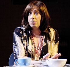 Graham Elwell as Rachael in 'Rachael's Cafe' Photo: Anton Belmonté