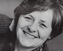 Kate Crutchley, a key figure at the Oval House in the 1980s