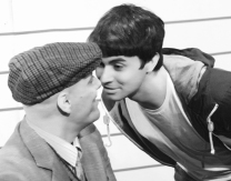 "Andrew Rowney (left) as Kenneth Halliwell and Richard Dawes (right) as Joe Orton in ""Orton"" at Above the Stag Photo: Derek Drescher"