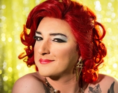 Rosie Beaver appearing in 'Drag Queens of London'
