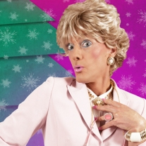 'Sheila Simmonds: Christmas Cracker' at Leicester Square Theatre