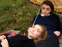 Florence Pugh and Maisie Williams as Abbie and Lydia in The Falling Photo: Aimee Spinks/PR