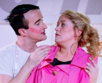 Adam Rhys-Davies and Julie Atherton in Shock Treatment Photo: Peter Langdown
