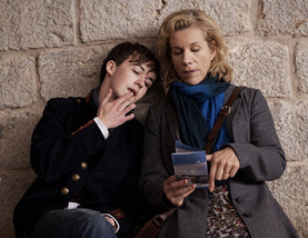 Alex Lawther and Juliet Stevenson in Departure