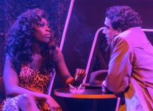 Gloria Onitiri and Sebastien Torkia in The Stripper photo: David Freeman